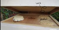 fondant and sawdust